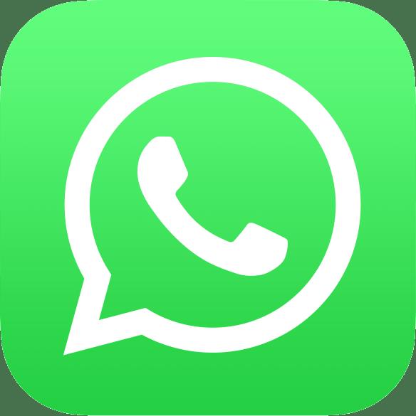 Knop om een WhatsApp bericht te sturen naar Remco